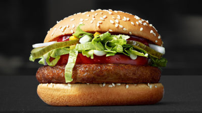 McDonalds has currently only launched the McDonald's in Finnland, and until November, but McDonald's is taking the first step in the fast food industry to provide a dedicated vegan option.